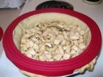 Chicken & mushroom filling